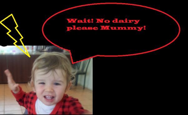 no dairy please mummy