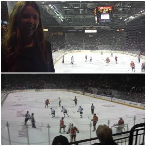 Hockey has a new fan!